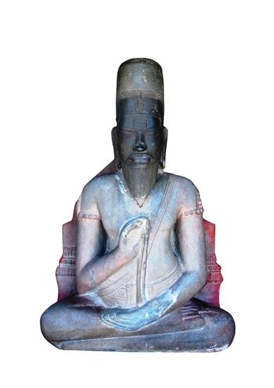 Giải mã tấm bia ký trên tượng Phật Lồi tại Bình Định