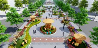 Đường hoa Nguyễn Huệ Tết Canh Tý 2020