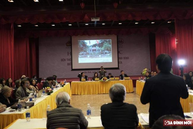 Các nhà nghiên cứu đồng tình với đề xuất của Quỹ Văn Hiến Việt Nam trong việc bảo tồn và phát triển khu di tích